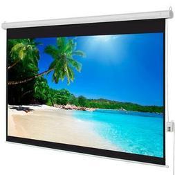 "100"" 4:3 Material Electric Motorized indoor Projector Screen"