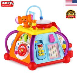Baby Cube Play Center Toy Infants Toys 15 Dynamic Games Vivi