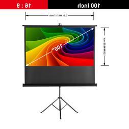 """100"""" INCH Projector Projection Screen 16:9 8K 4K Ultra HD 3D"""