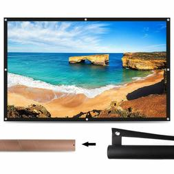 "Elephas 100"" Projector Screen, 16: 9 Hd Rollable Anti-Crea"