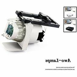 AWO 1020991 Premium Projector Replacement Lamp with Housing