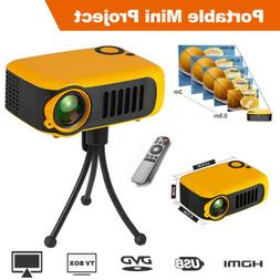 1080p Full HD LED Portable Mini Projector Smart Home Theater
