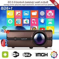 1080p full hd led projector 4k wifi