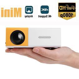 mini led projector full hd 1080p portable
