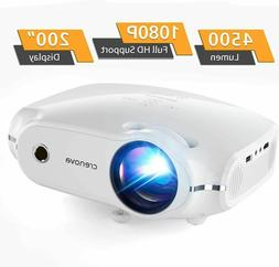 1080P Mini Cell Phone Movie Projector Home Theater HDMI Port