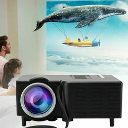 Mini Portable LCD Projector HD Micro Mobile Phone Video Home