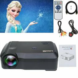 1080P Portable HDMI Video Projector Projection Home Film Cam