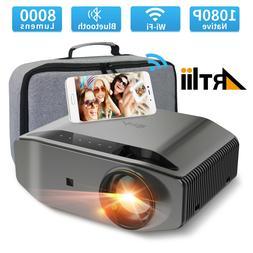 Artlii Energon 2 1080P Projector Home Theater 7000L 4K WiFi