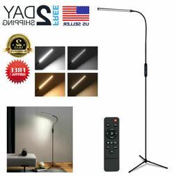 Standing Floor Lamp Dimmable LED Remote Gooseneck Floor Ligh
