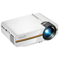 ELEPHAS 1200 Lumens LED Mini Video Projector, Support 1080P
