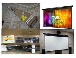 "125"" 16:9 Electric Motorized Drop Down Projector Projection"