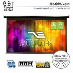 """125"""" 16:9 Electric Motorized Drop Down Projector Projection"""