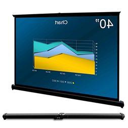 """AcTek 40"""" Portable Indoor Outdoor Projector Screen, 40 inch"""