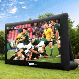 VIVOHOME 16FT 20FT Large Inflatable Screen Front & Rear Proj