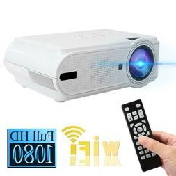 2000 Lumen Full HD 480P LED 3D LCD VGA HDMI TV Home Theater