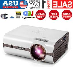 2000Lumen Video Projector Full HD 1080P Home/Theater/Office/