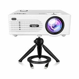 QKK  Home Theater Mini Projector - Full HD LED Video Project