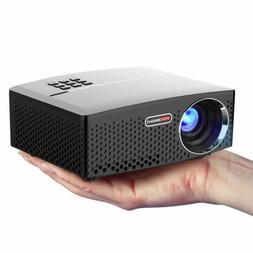 2019 Mini 4K HD Portable 3D Home Theater Projector LED Cinem