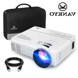 2019 Mini LCD Cinema Projector 2400 Lumen LED 1080P Home The