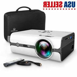 2019 Portable LCD Projector 2500 Lumens 1080P Home Video Min