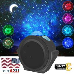 3-in-1 LED Starry Galaxy Light Romantic Night Sky Projector