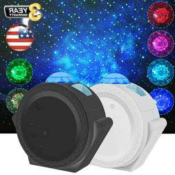3 in 1 LED Starry Night Sky Projector Lamp Romantic Galaxy S