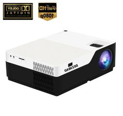 """300"""" Native 1080P Full HD Home Theater Projector LED Light H"""