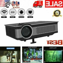 3200 Lumens LED Android 4.4 Wifi Smart Cinema LCD 3D 4K HD 1