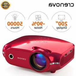 3200Lumen Projector HD 1080P 3D Portable LED HDMI/USB/SD/AV