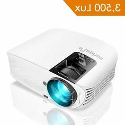 """3500 Lumen LED Home Theater Projector 200"""" Support 1080P HDM"""