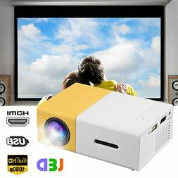 3D 4K Full HD 1080P LED Projector Home Cinema Video Theater