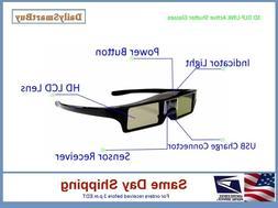 3D DLP  Active Shutter Glasses 96 - 144Hz for DLP-Link Proje
