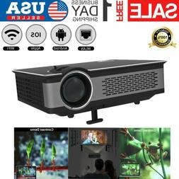 3D Home Theater Projector USB/SD/AV/Bluetooth Cinema Smart P