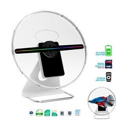 3D LED Hologram Projector Fan Holographic Display Player Sho