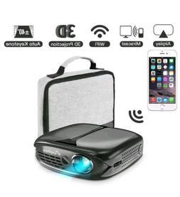 3D Mini Projector, ELEPHAS 100 ANSI Lumen WiFi DLP Portable