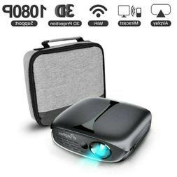 ELEPHAS 3D Mini Projector airplay 3D miracast wifi