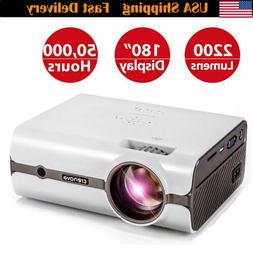 3D Portable LED Projector HD 1080P HDMI/USB/SD/AV/iPhone/iPa