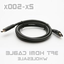 3Ft HDMI Cable Blu-Ray Projector PS3 XBOX360 Video Player PC