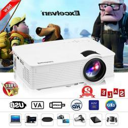 4000 Lumens 1080P Mini LED Projector Multimedia Home Cinema