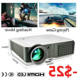 4200Lumen Video Projector LED 7000:1 Full HD Home Theater 10