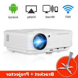 4500LMS Home Theater Projector 1080P HDMI Smartphone USB Mov