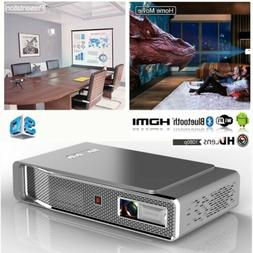 4K DLP Real 3D Projector Android Wifi Bluetooth LED Video Ho
