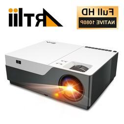 4K Projector 1080P Artlii Stone Full HD HomeTheater cinema 6