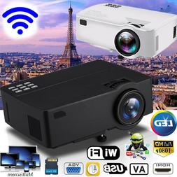 E09 Wifi Full HD 1080P 4K LED Video Projector Home Theater B