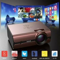 4K WiFi Wireless FHD 1080P Home Movie Theater 4000Lumens LED