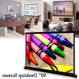 50'' LED Video Projector Screen 4:3 HD Projection Home Theat