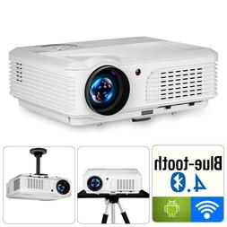 5000LMS Android WiFi 1080P Projector Blue-tooth For Speaker
