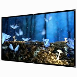 """60""""/120""""/150"""" Portable Foldable Wall Projector Screen 16:9 H"""