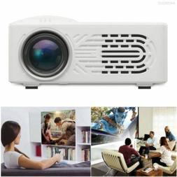 7000 Lumens 3D 1080P Full AV USB HD Mini Projector LED Multi