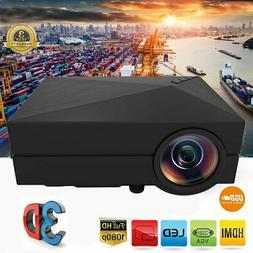 7000LM LED Projector Full HD 1080P Multimedia Home Cinema Th